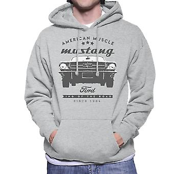 Ford Mustang American Muscle Stars Men's Hooded Sweatshirt