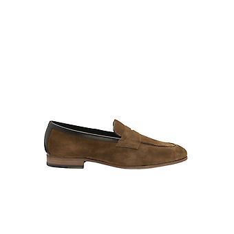 Loake Darwin Loafer Tan Suede