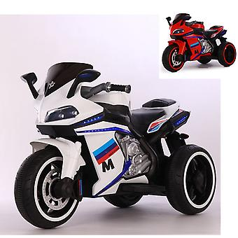 Moni, Electric Motorcycle Legend, Funzione Musicale MP3 LUCI LED Start Button 3 Ruote