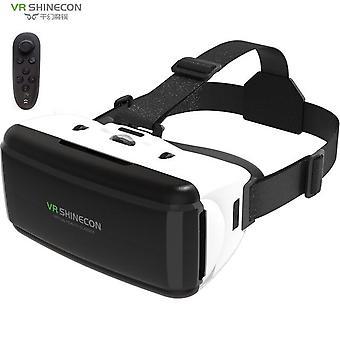 Vr shinecon box g06 vr glasses 3d glasses virtual reality glasses vr headset box for google cardboard smartp