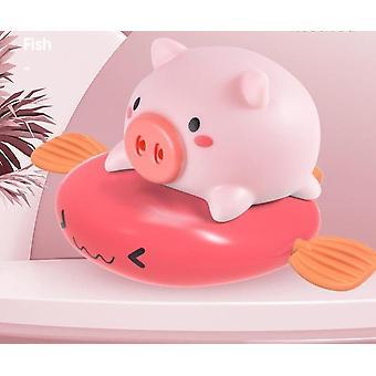 Flyvende fisk ridning piggy sød form farverige baby badekar legetøj