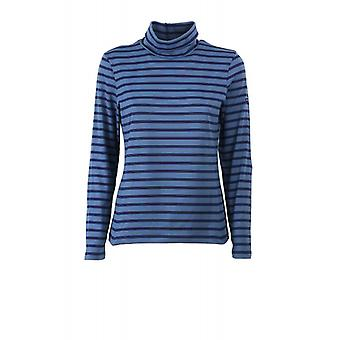 Saint James Oural Blue Long Sleeve Shirt