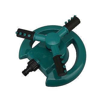 360 Degree Rotating Sprinkler Green 3 Arm Rotating Sprinkler System