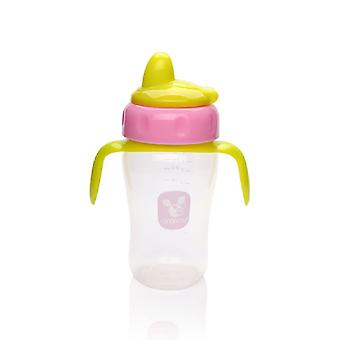 Drinkbeker, drinkbeker 270ml TC 5017 roze, overdrukventiel, vanaf 6 maanden
