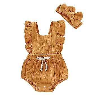 Sommer-Baby-Kleidung, Strampler Set, Body Jumpsuit