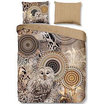 duvet cover Siku 200 x 220 cm flannel taupe