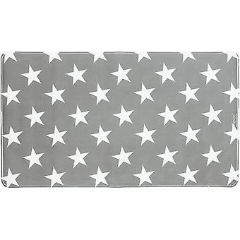 badvorleger Stella 70 x 40 cm grau/weiß