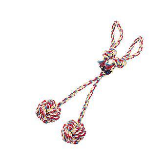 Žvýkací hračky pro psy, omyvatelná bavlněná lana pro malá až střední štěňata