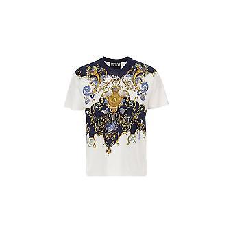 Versace Jeans Couture Cotton White T-shirt