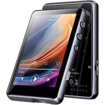 FengChun 32G MP3 Player Bluetooth 5.0, HiFi Verlustfreier Ton MP3 Musik Player, Eingebaut
