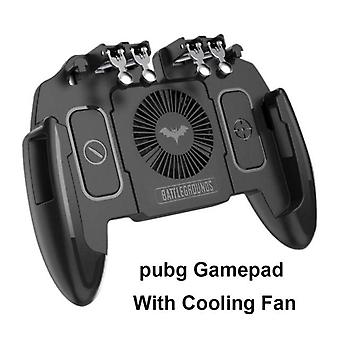M10 PUBG Mobile Controller Gamepad Fan iOS Android Operation Joystick Cooler