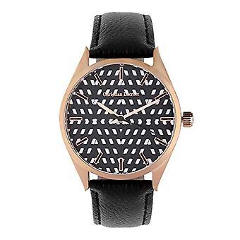 Christian Lacroix Men's Quartz Watch with Leather Strap CLMS1824