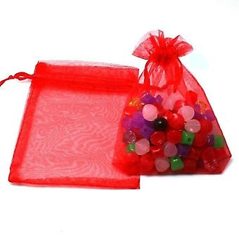 Jewelry Packaging Drawable Organza Bags