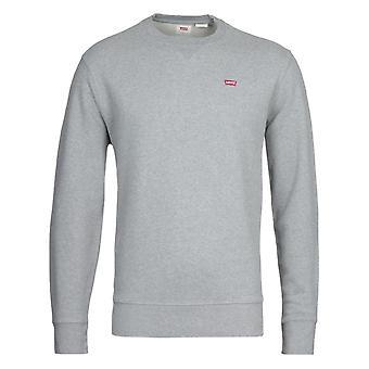Levi's New Original Sustainable Crew Neck Sweatshirt - Grey Heather