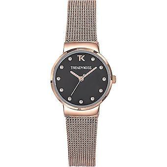 Trendy Kiss - Wristwatch - Women - Kirsten mesh - TMRG10113-02