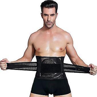 Xl schwarz Männer Taille Trainer Trimmer für Gewichtsverlust Bauch Kontrolle Kompression x6590