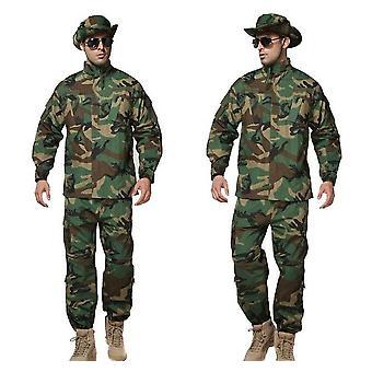 Soldat militar tactic, Luptă în aer liber, Seturi pantalon de camuflaj Acu