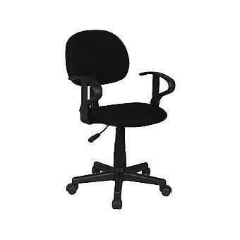 "Silla de escritorio con ruedas ""Moulin"" - Negro"