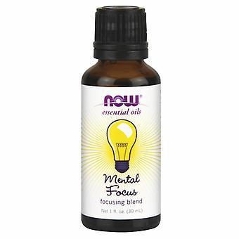 Now Foods Mental Focus Oil Blend, Focusing, 1 oz