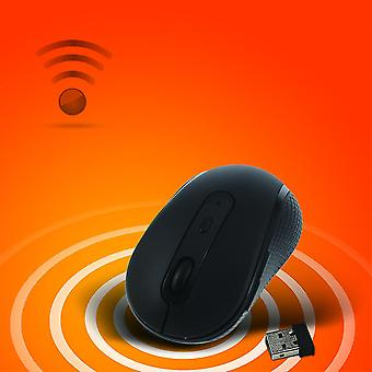 Optical Mouse With Usb Compact Mice Wireless 2.4ghz Mouse For Laptop Pc