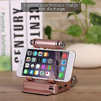 Altavoz Bluetooth Powerbank Smartphone Bracket 180 Grados Rotable Flexible