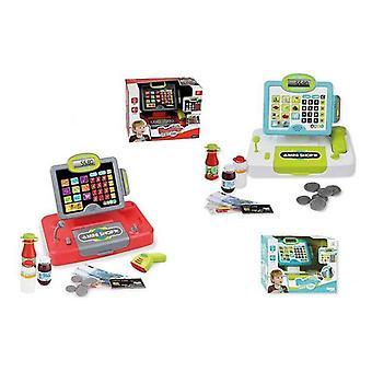 Speelgoed Kassa Mini Shop + Ingebouwde scanner (30,5 x 19 x 24 cm)