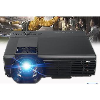 Projektor Full Hd Home Theater Multimedia Vga Usb -kompatybilny Led Projektor