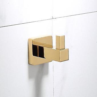 Luksusowa złota łazienka mosiądz sprzętowe Zestawy Ręcznik Rack papier uchwyt toaletowy Uchwyt na szczotkę