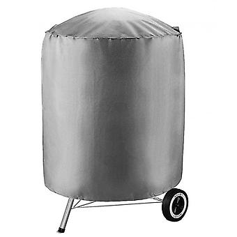 Outdoor Round Bbq Grill Cover Waterproof Furniture Dust Cover