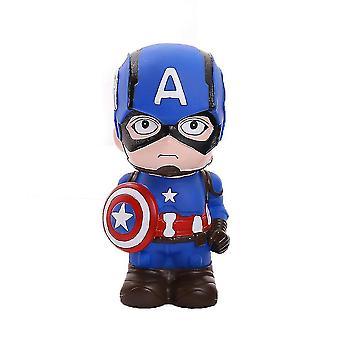 Cartoon Piggy Bank Captain America Avengers Piggy Bank Money Box