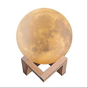 3D طباعة ضوء القمر بلوتوث المتكلم مع ضوء الليل الملونة لإرسال أصدقاء الصبي والفتاة