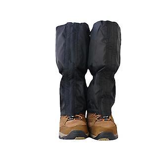 1 Pair waterproof gaiter outdoor hiking walking climbing hunting snow ski legging gaiters