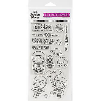 """Le mie cose preferite Birdie Brown Stamps 4 """"X8"""" - Space Explorer"""