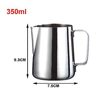 Stainless Steel Milk Pitcher Frother, For Espresso, Coffee, Barista Crafts, Latte, Cappuccino, Cream Cup