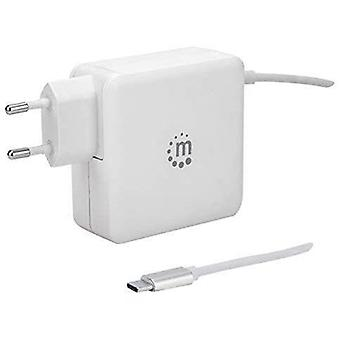 Power Delivery Wall Charger with Built-in USB-C Cable 60 W USB-C Power Delivery Connector (Up to 60