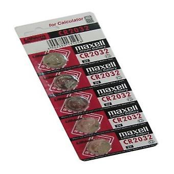 Piles bouton au lithium Maxell CR2032 3 V