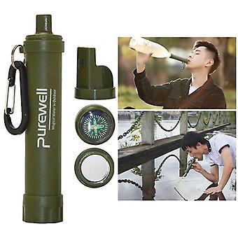 ポータブル浄水器屋外サバイバルフィルターボトル