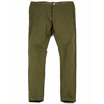 Edwin Jeans 55 Chino - militär grön