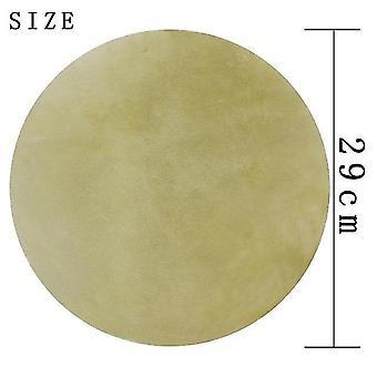 2Pcs buffalo drum skin cuir sur pour tambour africain bongo drum 29cm 31cm diamètre drum percussion