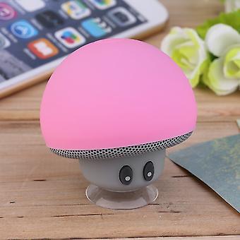 Universal Portable Cute Mushroom Style Wireless Music Bluetooth Speaker