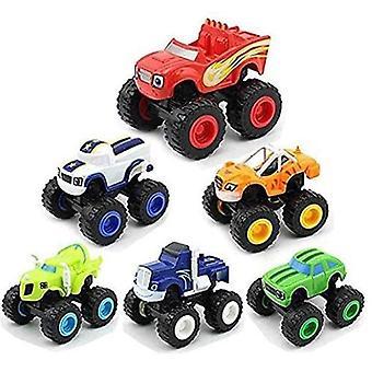 Blaze and The Monster Machines Lelut, Blaze Vehicle Toys Lahjat (6 kpl)