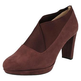 Damer Clarks smarte bukser sko Kendra Mix