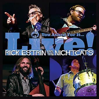 Estrin, Rick / Nightcats - du bett om det / Live [CD] USA import