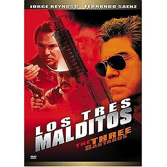 Los Tres Malditos [DVD] USA import