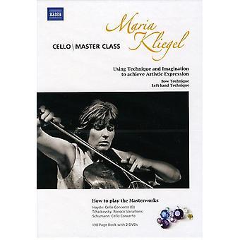 Masterclass di violoncello: Maria Kliegel [DVD] Stati Uniti importare