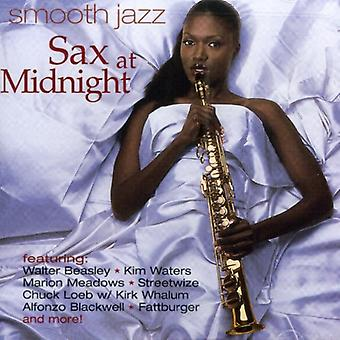 Smooth Jazz - Sax à l'importation des USA de minuit [CD]