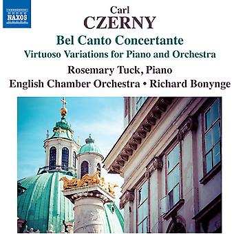 Czerny / Tuck / English Chamber Orch / Bonynge - Bel Canto Concertante [CD] USA import