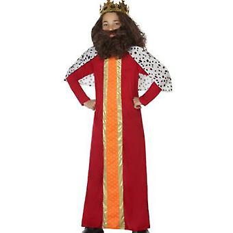 Pour enfants costumes homme sage/roi rouge