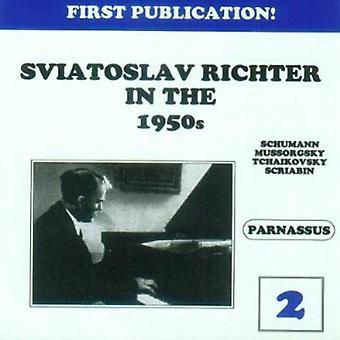 Sviatoslav Richter - Sviatoslav Richter in the 1950s, Vol. 2 [CD] USA import