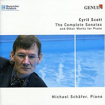 C. Scott - Cyril Scott: The Complete Sonatas and Other Works for Piano [CD] USA import